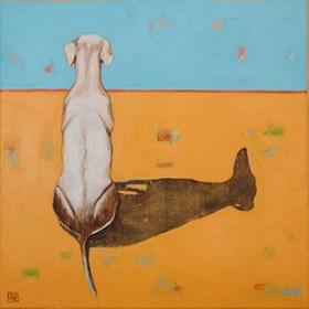 Obraz do salonu artysty Renata Magda pod tytułem Spoczywając