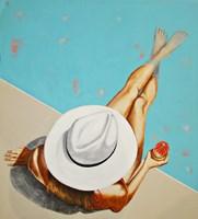 Obraz do salonu artysty Renata Magda pod tytułem Kwadrans po południu ...