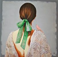 Obraz do salonu artysty Renata Magda pod tytułem Zapukał do usmiechu ...