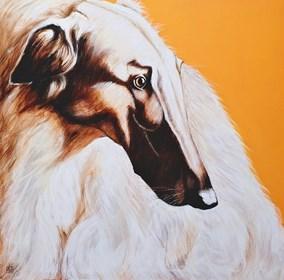Obraz do salonu artysty Renata Magda pod tytułem Oczekując ...