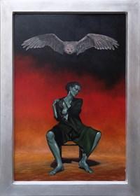 Obraz do salonu artysty Mariusz Zdybał pod tytułem A Bit of Pheromone