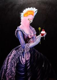 Obraz do salonu artysty Mariusz Zdybał pod tytułem Maria A