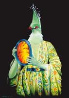 Obraz do salonu artysty Mariusz Zdybał pod tytułem Inkluzja