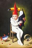 Grafika do salonu artysty Rafał Olbiński pod tytułem Tales of Love (Toucan)