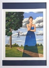 Obraz do salonu artysty Rafał Olbiński pod tytułem Midsummer Marriage 77/350