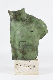 Rzeźba do salonu artysty Igor Mitoraj pod tytułem Asklepios