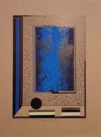 Obraz do salonu artysty Henryk Płóciennik pod tytułem Monotypia