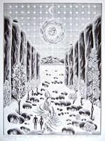 Grafika do salonu artysty Henryk Płóciennik pod tytułem Miodowy miesiąc IC