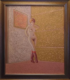 Obraz do salonu artysty Henryk Płóciennik pod tytułem Akt