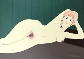 Obraz do salonu artysty Henryk Płóciennik pod tytułem Bez tytułu