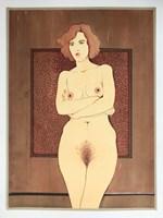 Obraz do salonu artysty Henryk Płóciennik pod tytułem Bez tytułu 1