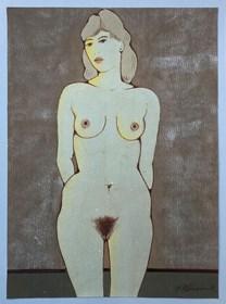 Obraz do salonu artysty Henryk Płóciennik pod tytułem Akt kobiecy 1