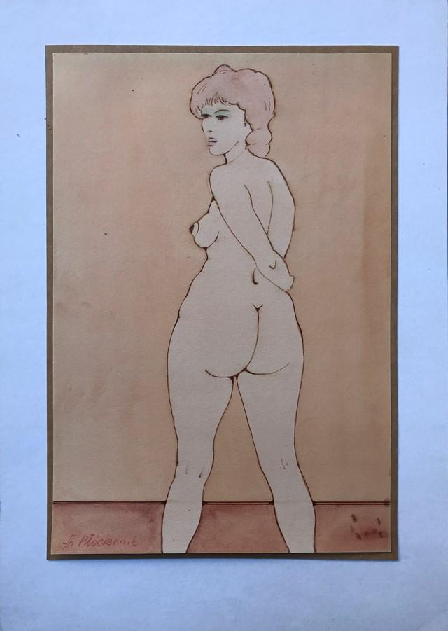 Obraz do salonu artysty Henryk Płóciennik pod tytułem Akt kobiecy 2