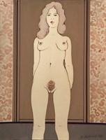 Obraz do salonu artysty Henryk Płóciennik pod tytułem Akt kobiecy 3