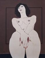 Obraz do salonu artysty Henryk Płóciennik pod tytułem Akt kobiecy 7