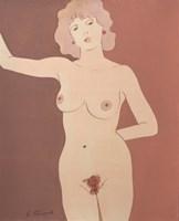 Obraz do salonu artysty Henryk Płóciennik pod tytułem Akt kobiecy 8