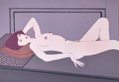 Obraz do salonu artysty Henryk Płóciennik pod tytułem Akt kobiecy 9