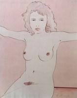 Obraz do salonu artysty Henryk Płóciennik pod tytułem Akt kobiecy 10