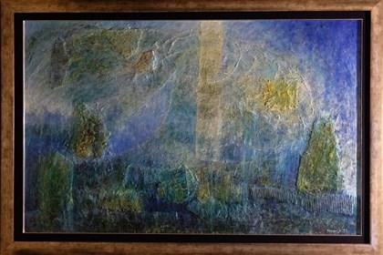 Obraz do salonu artysty Krzysztof Kopeć pod tytułem Fantasmagorie ślepców