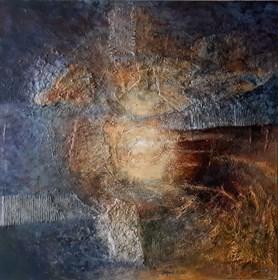 Obraz do salonu artysty Krzysztof Kopeć pod tytułem Lśnienie cienia