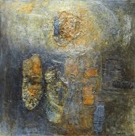Obraz do salonu artysty Krzysztof Kopeć pod tytułem Rozmowa z Wszechświatem