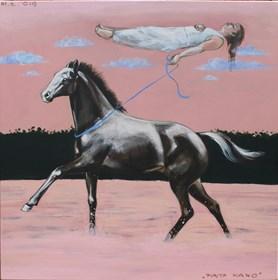 Obraz do salonu artysty Małgorzata Łodygowska pod tytułem Piąta rano