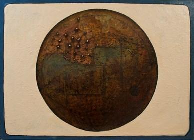 Obraz do salonu artysty Grzegorz Klimek pod tytułem Nieznana planeta
