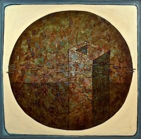 Obraz do salonu artysty Grzegorz Klimek pod tytułem Twierdza