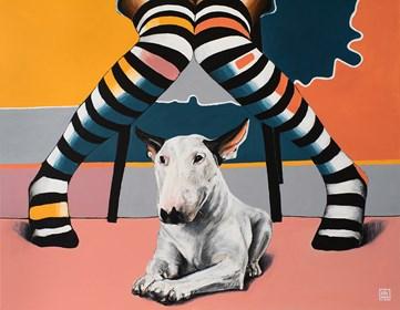 Obraz do salonu artysty Sławomir Setlak pod tytułem Myśli złożone