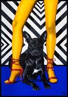 Obraz do salonu artysty Sławomir Setlak pod tytułem Black Dog