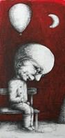 Obraz do salonu artysty Piotr Kamieniarz pod tytułem Po przyjęciu
