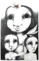 Obraz do salonu artysty Piotr Kamieniarz pod tytułem Anioł stróż