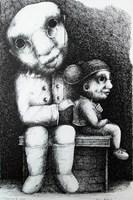 Obraz do salonu artysty Piotr Kamieniarz pod tytułem Bez tytułu 1
