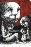 Obraz do salonu artysty Piotr Kamieniarz pod tytułem Nie bądź niedobra dla twojego nowego przyjaciela