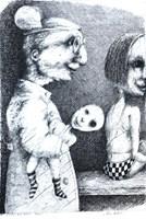 Obraz do salonu artysty Piotr Kamieniarz pod tytułem Bez tytułu III