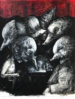 Obraz do salonu artysty Piotr Kamieniarz pod tytułem Kiedy budzą się demony wersja 3