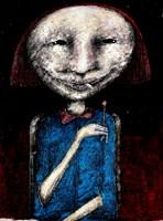 Obraz do salonu artysty Piotr Kamieniarz pod tytułem Dziewczynka z zapałką