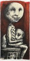 Obraz do salonu artysty Piotr Kamieniarz pod tytułem Bardzo cieszę się że wyrzuciłeś swoją starą przytulankę I