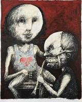 Obraz do salonu artysty Piotr Kamieniarz pod tytułem Stosunki międzyludzkie są nad wyraz skomplikowane II
