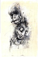 Grafika do salonu artysty Piotr Kamieniarz pod tytułem Czy to miłość czy to sterowanie ?