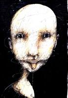Grafika do salonu artysty Piotr Kamieniarz pod tytułem Nie będę trzymal języka za zębami II