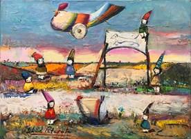 Obraz do salonu artysty David Pataraia pod tytułem Bez tytułu 10