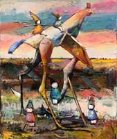 Obraz do salonu artysty David Pataraia pod tytułem Bez tytułu 11
