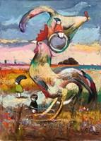 Obraz do salonu artysty David Pataraia pod tytułem Bez tytułu 13
