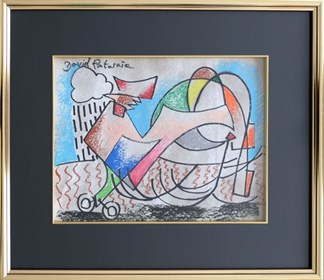 Obraz do salonu artysty David Pataraia pod tytułem Kogut