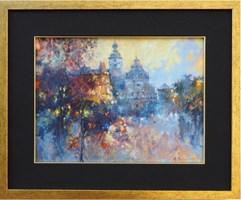 Obraz do salonu artysty Anatol Martyniuk pod tytułem Motyw Ze Lwowa - Klasztor Bernardynów