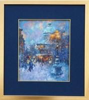 Obraz do salonu artysty Anatol Martyniuk pod tytułem Lwów, Kolorowy Wieczór