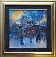 Obraz do salonu artysty Anatol Martyniuk pod tytułem Wieczór Koło Dominikanów