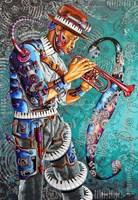 Obraz do salonu artysty Krzysztof Żyngiel pod tytułem Oratorium sceniczne