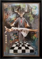 Obraz do salonu artysty Lech Bator pod tytułem Levitation